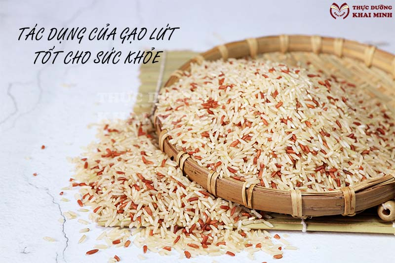 6 Tác dụng của gạo lứt