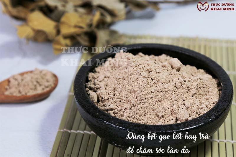 Tác dụng của gạo lứt để chăm sóc làn da