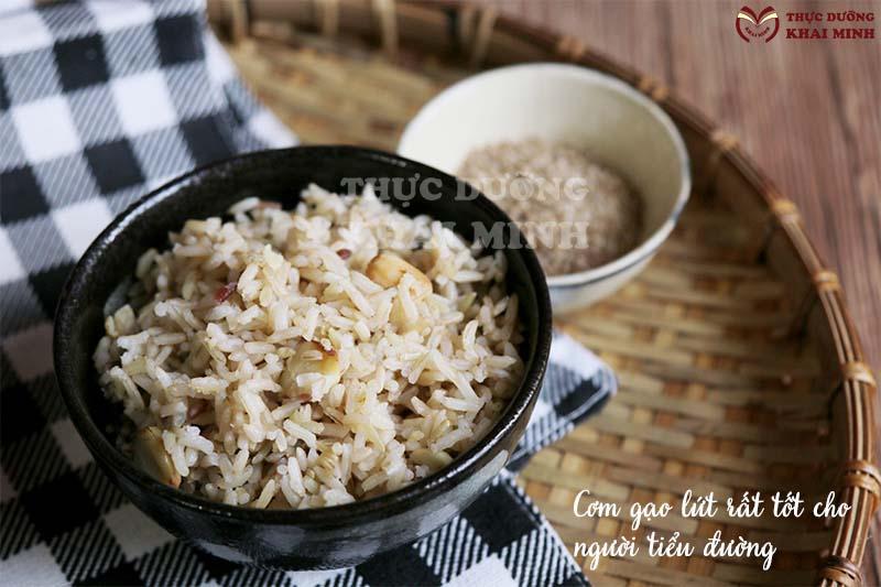 Tác dụng của gạo lứt với người bị tiểu đường